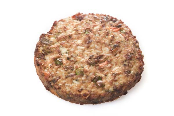 Vegetarische rijstburger (BBQ)