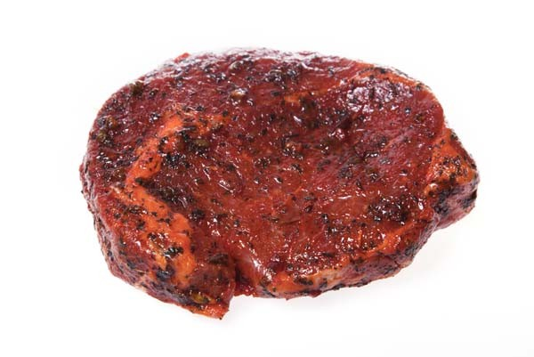 Rib-eye gemarineerd per stuk (BBQ)